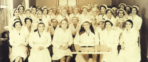 AGBU Red Cross unit, NY, World War II.