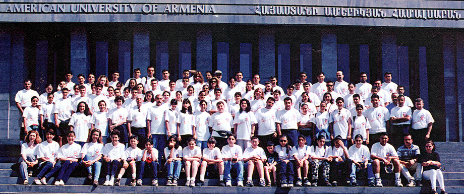 AGBU forges its partnership with the American University of Armenia (AUA), providing financial assistance to launch programmes and scholarships.