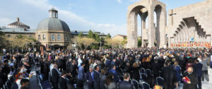 AGBU contributed to the ceremony of the canonization of the Holy Martyrs.