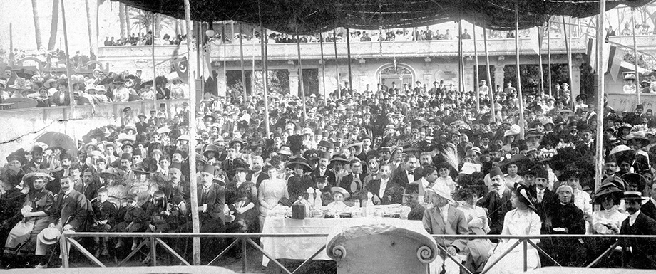 AGBU's fifth anniversary celebrations in Cairo, Egypt, 1911.