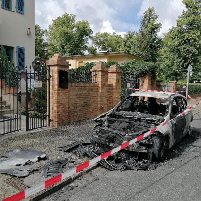 Brandanschlag Botschaft Berlin 1