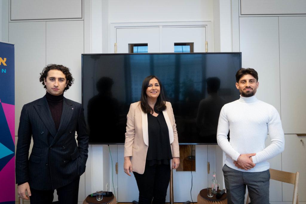 Georgi Ambarzumjan, Düzen Tekkal & Radwan Hasso