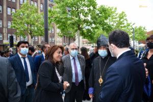 Im Gespräch mit ZED und armenischer Diozese